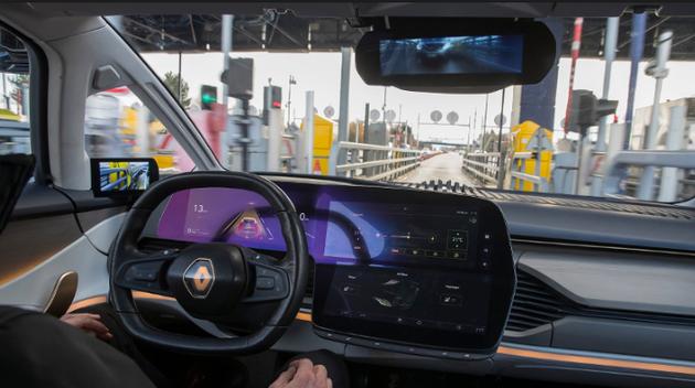 育碧游戏宣布与雷诺汽车合作 无人驾驶汽车装载VR功能