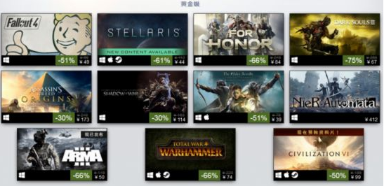 Steam平台年度最佳畅销游戏公布 你买了几款?