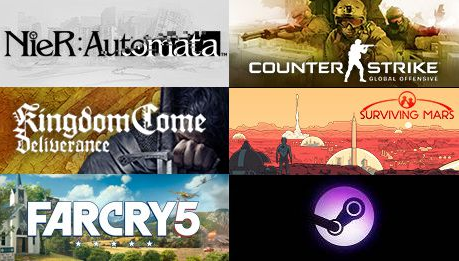Steam平台游戏销量排行榜 《绝地求生》再度夺冠