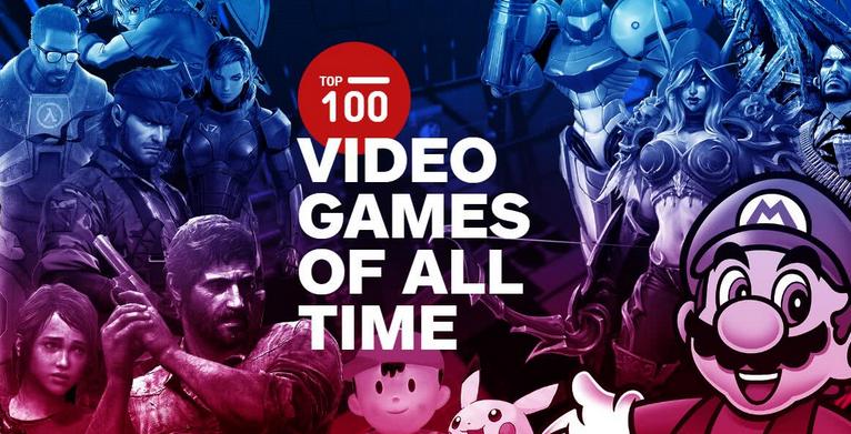 史上最佳游戏榜单出炉:任天堂占据半壁江山