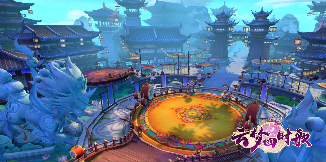 腾讯游戏首度合作完美世界 《云梦四时歌》闪耀UP2018