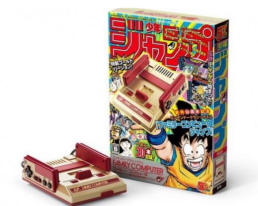 任天堂宣布发售与JUMP联动的50周年特别版FCmini