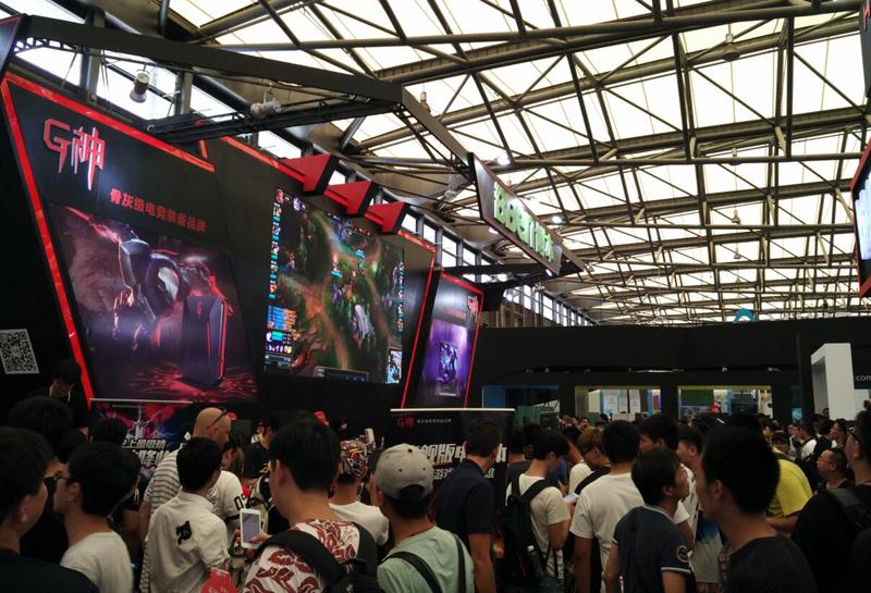 博本G神将在2018ChinaJoy再续精彩,打造骨灰级电竞品牌