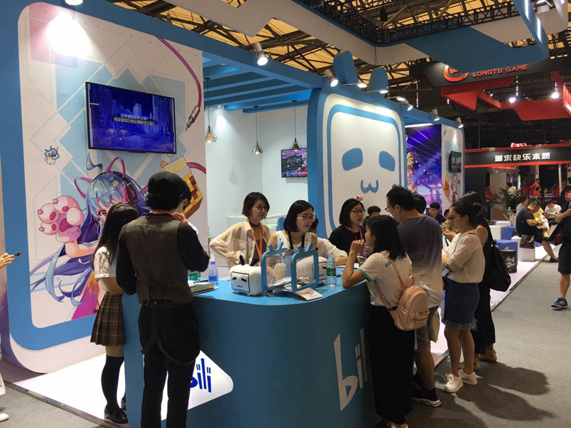 用专业精准的服务贴近更实际的需求,大而不同的2018ChinaJoy BTOB展馆