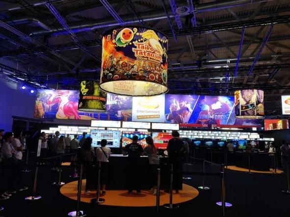 2018科隆游戏展开放 全球游戏玩家的天堂