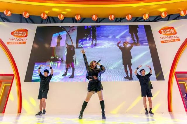 2018ChinaJoy万代南梦宫展区的高光时刻
