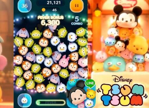 《Line:迪士尼消消看》收入突破十亿 下载达七千万